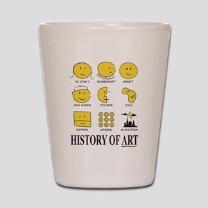 History Of Art By Smiley - Shot Glass