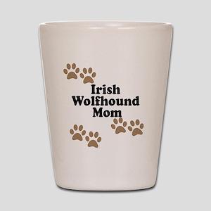Irish Wolfhound Mom Shot Glass