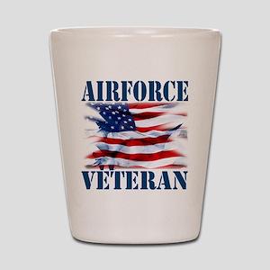 Airforce Veteran copy Shot Glass