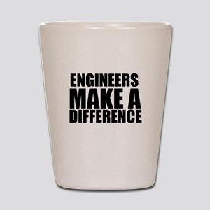 Engineers Make A Difference Shot Glass