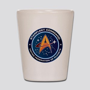 Star Trek Federation Of Planets Shot Glass