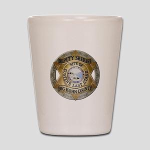 Big Horn County Sheriff Shot Glass
