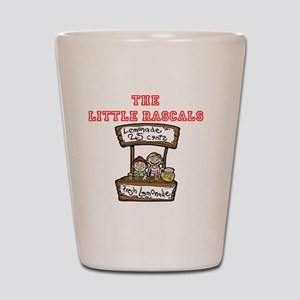 The Little Rascals Shot Glass
