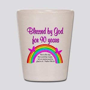 PRECIOUS 90TH Shot Glass