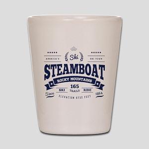 Steamboat Vintage Shot Glass