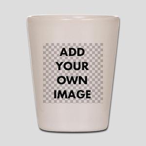 Custom add image Shot Glass