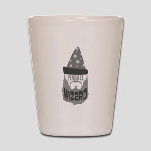 pinball wizard Shot Glass