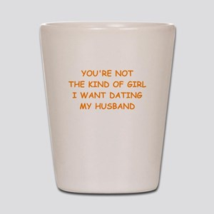 dating Shot Glass