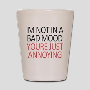 Bad Mood Shot Glass