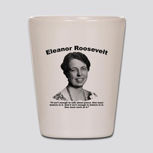 Eleanor: Peace Shot Glass
