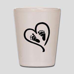 Baby Heart (Maternity) Shot Glass