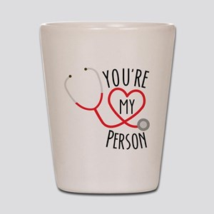 Grey's Anatomy You're My Person Shot Glass