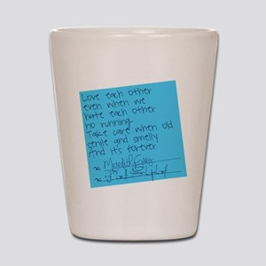 Grey's Anatomy: Sticky Note Shot Glass