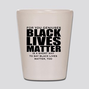 African American Shot Glass