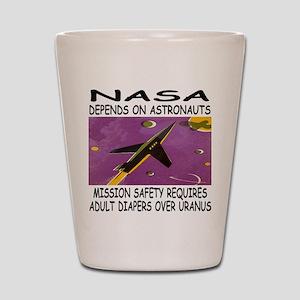 NASA-Uranus Shot Glass