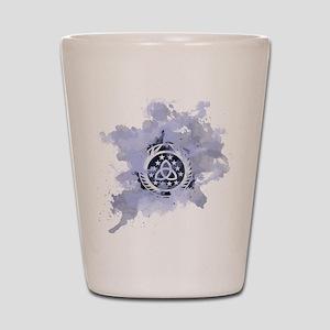 The 100 Clans Skaikru Shot Glass