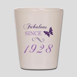 1928 Fabulous Birthday Shot Glass