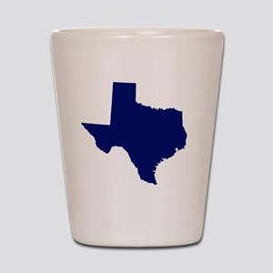 Texas - Blue Shot Glass