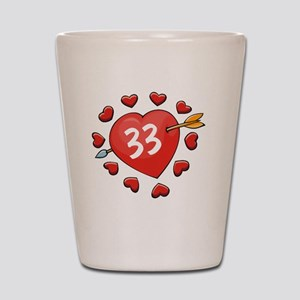 33ahrtbtn Shot Glass