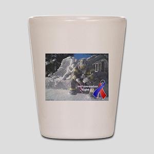 Remembering Flight 93 Shot Glass
