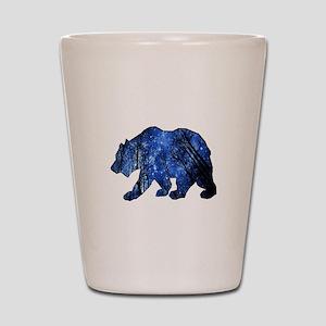 BEAR NIGHTS Shot Glass