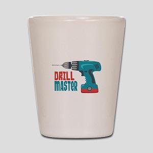 Drill Master Shot Glass