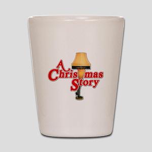 A Christmas Story Movie Lamp Shot Glass