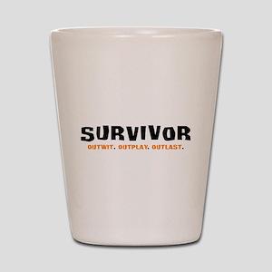 SURVIVOR Shot Glass