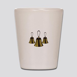 Three Handbells Shot Glass