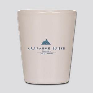 Arapahoe Basin Ski Resort Colorado Shot Glass