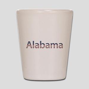 Alabama Stars and Stripes Shot Glass