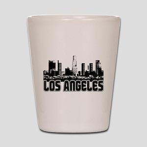 Los Angeles Skyline Shot Glass