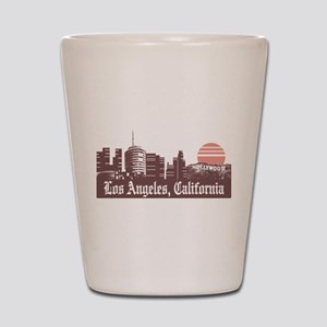 Los Angeles Linesky Shot Glass