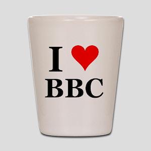 Love bbc Shot Glass