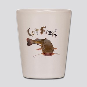 Catfish Shot Glass