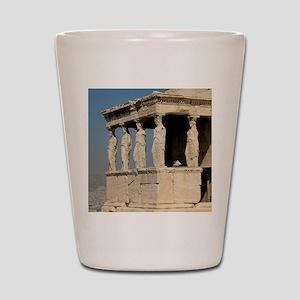 Caryatid_mug Shot Glass