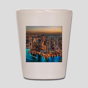 Dubai Skyline Shot Glass