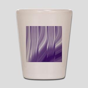 abstract purple grey Shot Glass