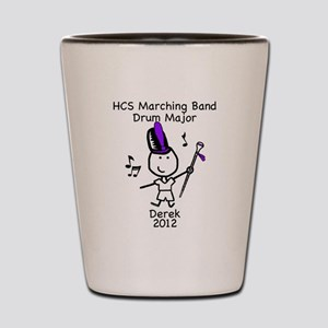 Drum Major - Derek Shot Glass