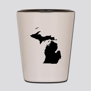 Michigan Map Shot Glass
