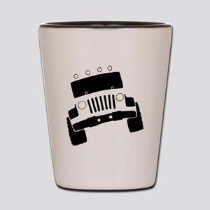 Jeepster Rock Crawler Shot Glass