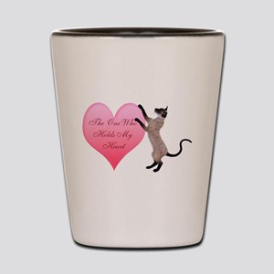 Valentine Cat Shot Glass