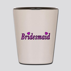 Bridesmaid Simply Love Shot Glass
