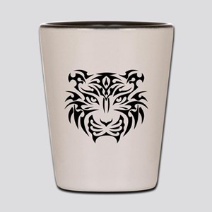 Tribal Tiger Shot Glass