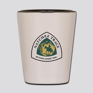 Natchez Trace National Trail, Mississip Shot Glass