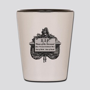 R.I.P. Personalized Shot Glass
