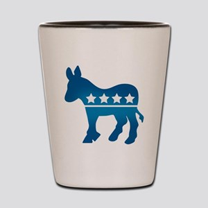 Democrats Donkey Shot Glass