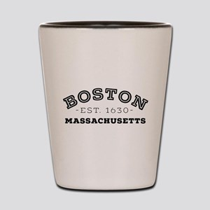 Boston Massachusetts Shot Glass