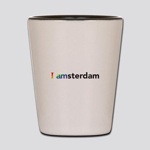 I Pride Amsterdam Shot Glass