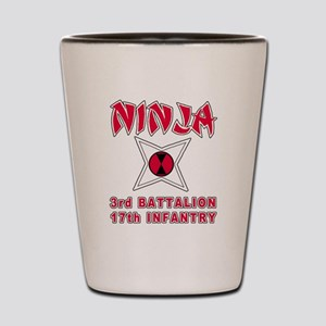 3-17 Ninja Shot Glass